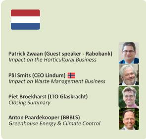 Seminar The Netherlands – June 23rd 13:00 – 18:00